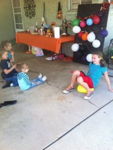 Balloon Pop Charades